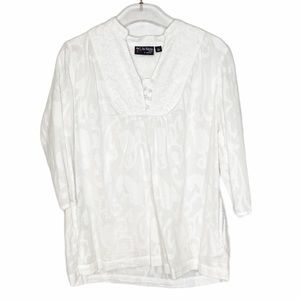 The Webster for Target White Eyelet Peasant Tunic